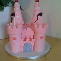 Princess Castle this was made for my daughters best friends 8th birthday, girly girls cake for definite