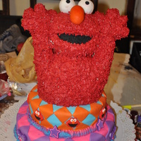 Elmo Cake For Aolani my baby's 2nd birthday cake, she went crazy for elmo!!! and when she sees this picture she goes nuts and scream my elmo! and then...