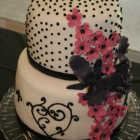 My 1St Mmf Cake & Sugar Flowers MMF and gumpaste flowers