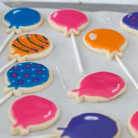 Balloon Cookies Balloon cookies...NFSC with glace icing