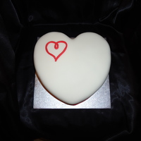 Love Heart Red velvet cake with cream cheese frosting. This was the first time I made a red velvet cake and iced a heart shaped cake, so happy with...