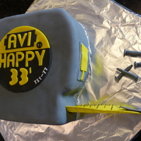 Tape Measure Cake Made for a Framer. Didn't want to make the typical hammer cake so I pulled out a Stanley tape measure and copied it. All Fondant and...