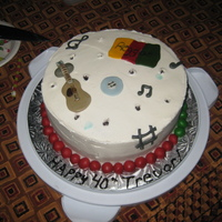 Music Cake friends birthday cake who loves music