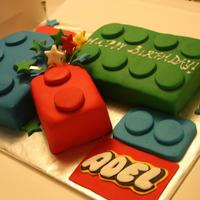 Lego Blocks Cake A last minute order for a friend...