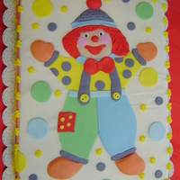 Gymbo The Clown fondant