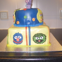 Sadie's Sesame Street Cake (2Nd Birthday)