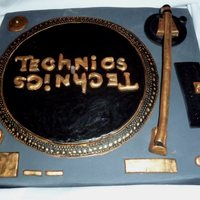 Put Your Records On...   For a DJ wanting a black and gold edition :D
