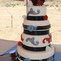 A Navajo Wedding This cake was made for a traditional Navajo wedding on the Navajo Reservation in Mexican Water, AZ. I used a mold made from a traditional...