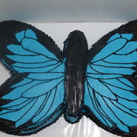 Black & Blue Butterfly