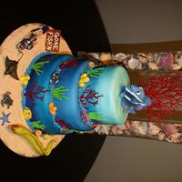 Underwater Creations Under-the-Sea Cake