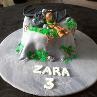 How To Train Your Dragon Self taught at cake decorating and still learning. This is my first attempt at a cake like this, especially the figurines, so if anyone has...