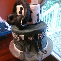 Head Phones Cake! Made this cake for my brother in law's birthday who happens to be a music freak!