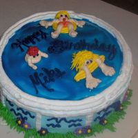 Pool Party I couldn't wait to try one of these pool party cakes. I obviously need to work on my features for my people. My son asked me why I...
