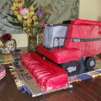 Combine Cake red Case 9120 Combine cake that I made for my nephew's 3rd birthday