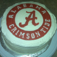 Roll Tide My Boss is a huge Alabama fan and this is all she wanted for her birthday. I forgot to take a picture when it was complete but this is...