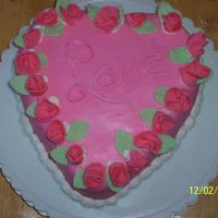 Our Family Valentines I made this cake for Valentines day for my family. Valentines day is very special because its not only Valentines Day but it is our...
