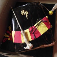 Harry Potter  This was for a friends son's 6th birthday. She gave me a picture of this cake and asked me to make it. I have never even seen a Harry...