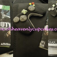 Xbox Cake for a boy thats loves xbox and call of duty