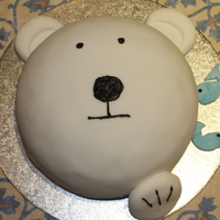 Polar Bear   This was the first cake I made which I took into work for a buffet just before Christmas in 2008.