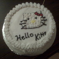 Hello Kitty Mini Cake I baked this for a coworker who loves Hello Kitty since she was a little child. She was so excited when Hello Kitty became popular again. I...