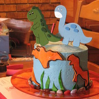 Coco's Dinosaur Cake A cake for a little friend going to kindergarten this year