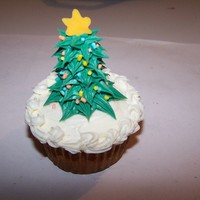 Christmas Tree Cupcakes I made these for a craft show in 2009