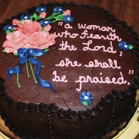 Proverbs 31   A birthday cake for a sweet young lady!