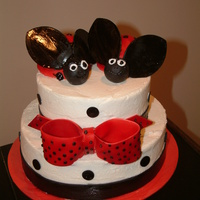 Lady Bugs lady bugs are mini cakes made from the mini wonder pan