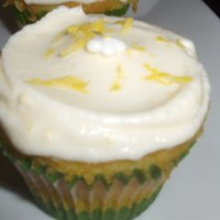 Lemon And Ganache Cupcakes
