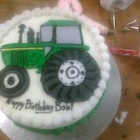 Another Tractor Order!! Two orders for tractors on cakes in the same DAY!