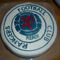 Rangers Football Club rangers football club birthday cake