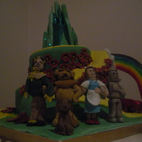 Wizard Of Oz Cake made for a friend for her wee girls b day this spring