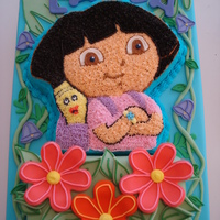 Dora Birthday Cake My niece LOVES Dora, so I made her this for her 3rd birthday! Big hit!