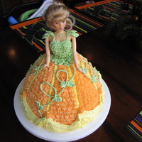 Pumpkin Barbie
