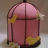 Bird Cage Inspired by tessje. all fondant