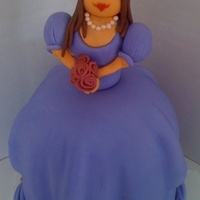 Princess my take of Debbi brown's frog prince. all fondant