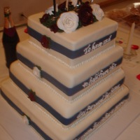 """i Do"" Wedding Cake"