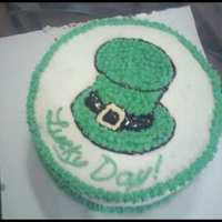 St. Patty's Day I made this cake serveral years ago. It was my first time decorating a cake after my Wilton class.