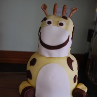 Giraffe Cake My take on Suzi Tomms cake, and also my first 3d cake. it was so much fun to make, and the birthday boy loved it. It is far from the...