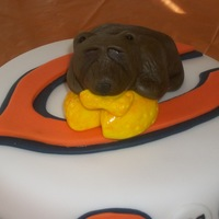 Chicago Bears Green Bay Cake