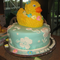 Luau Ducky For my son's second birthday party luau