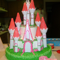 Princess Castle made this cake for boyfriends granddaughter