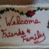 Family Reunion Made this cake for family reunion 2008