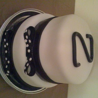 Tuxedo Cake   Got inspired by a similar cake I saw here in the Blk & wht gallery. Hope you like it.