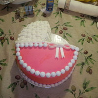 Baby Girl This cake was done for a co-workers baby shower.