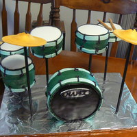 Mapex Drum Set Cake