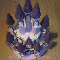 Fairy Castle Cake An inspiration from a cake magazine
