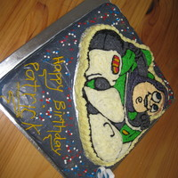 Buzz Lightyear Cake  My son is a huge fan of Buzz Lightyear and so when his 3rd birthday came round it was easy for me to decide what cake design to do. The...
