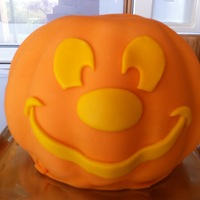 Mickey Mouse Halloween Pumpkin