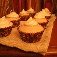 Brown Sugar Cupcakes With Banana Mousse
